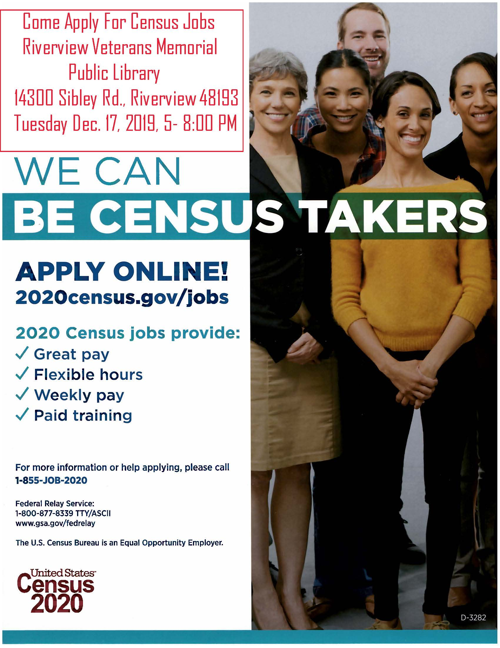 2020 Census Taker Job Information & Recruitment